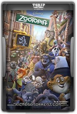 Zootopia Essa Cidade é o Bicho Torrent BDRip Dual Áudio 2016