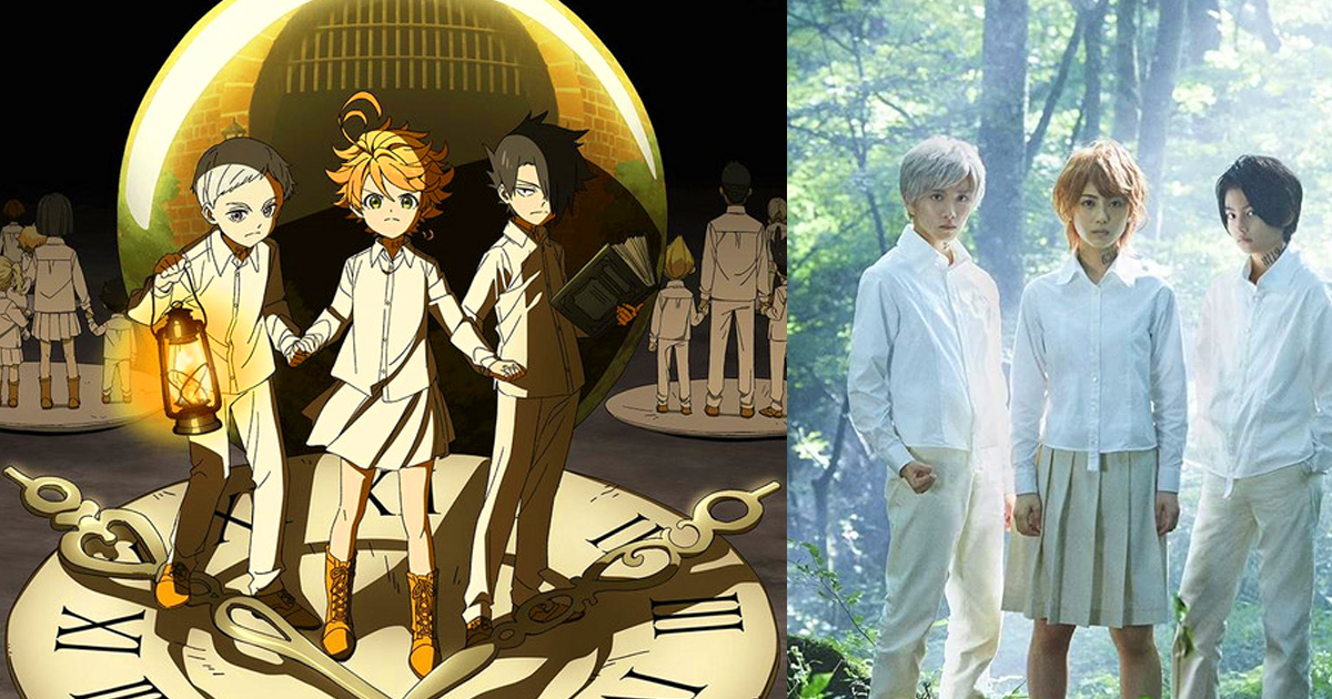 The Promised Neverland anime and movie casts