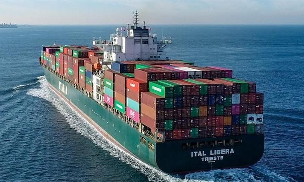 Corpo do capitão do navio Ital Libera é repatriado depois de seis semanas isolado no mar