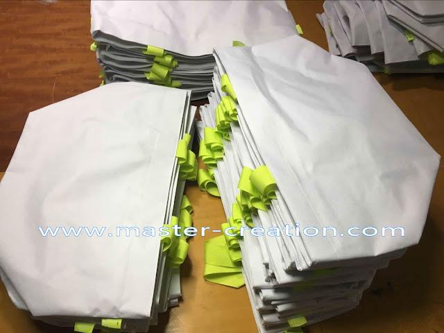 white marketing bag