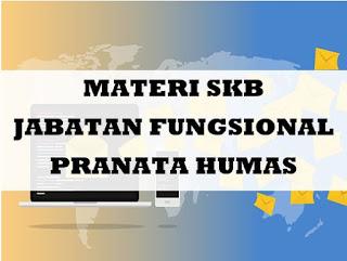 Materi SKB CPNS Jabatan Fungsional Pranata Humas