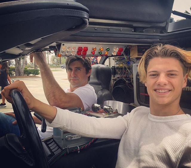 Photo of Cooper Barnes  - car