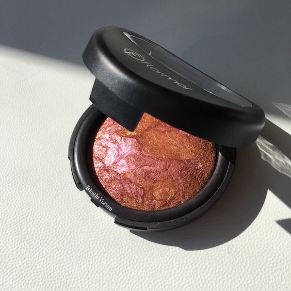 Flormar Terracotta Baked Blush-On 44 numaralı Pink Bronze allık