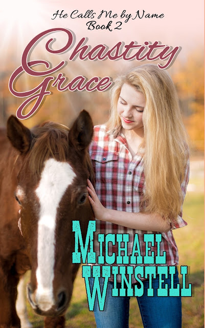 Chastity Grace, Grace Anderson, girl, horse, book, book cover