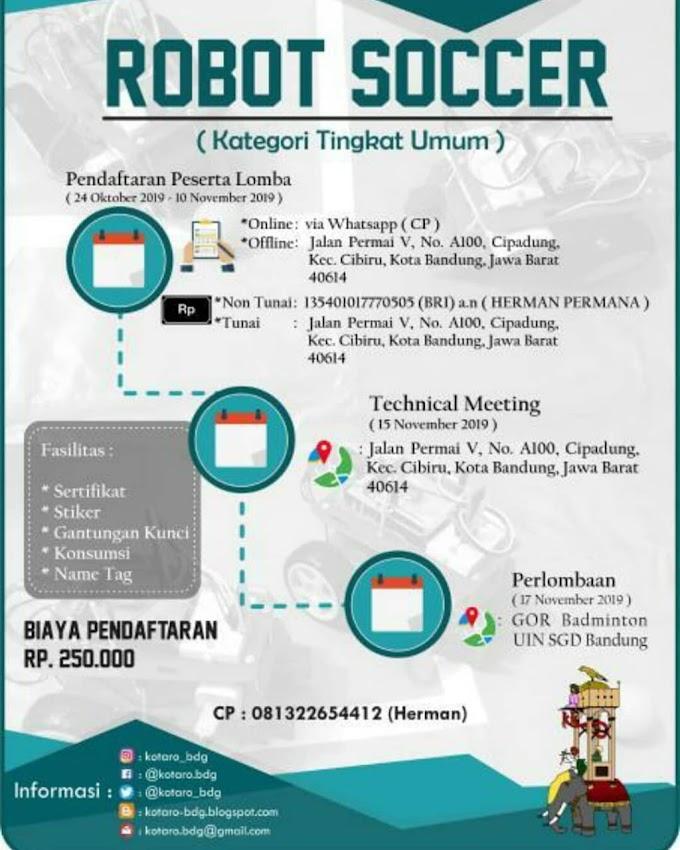 ROBOCOM VIII oleh KOTARO Bandung