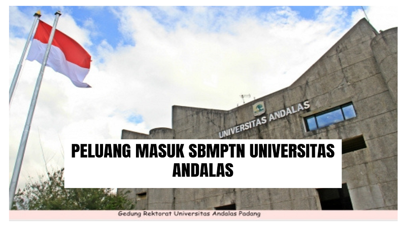 Peluang Masuk SBMPTN UNAND 2021/2022 (Universitas Andalas)