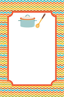Cookin Party Kit Free Printable  Labels.