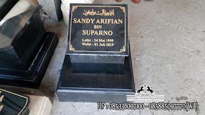 Nisan Kuburan Islam, Harga Nisan Kuburan Granit, Nisan Makam Marmer dan Granit