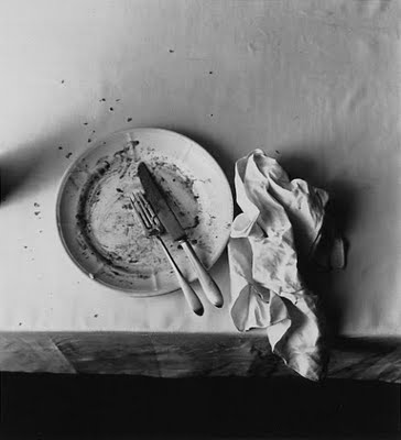 The Empty Plate by Irving Penn, 1947
