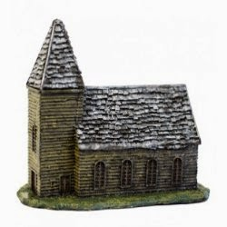 BD209 10 mm Wooden Church.