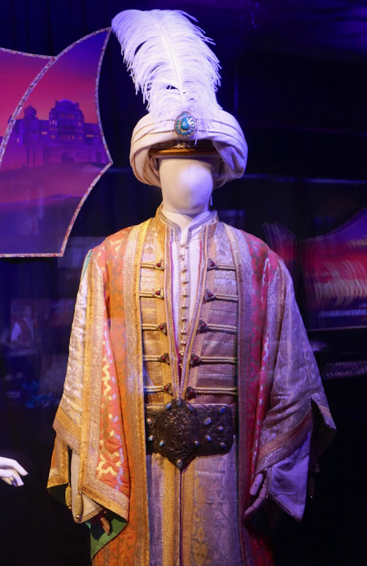 Sultan film costume Aladdin