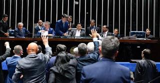 Paraibanos votam contra e Senado rejeita decreto das armas de Bolsonaro