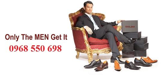 Giày nam cao tăng chiều cao hiệu quả - thương hiệu TOLDO