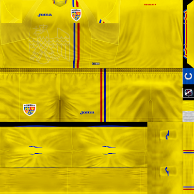 PES 6 Kits Romania National Team Season 2018/2019 by JeremySvr