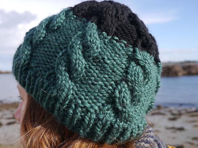 torsades en tricot