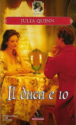 La biblioteca dei miei sogni: Il duca e io, di Julia Quinn