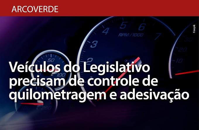 MPPE recomenda adesivação dos veículos de uso do Poder Legislativo de Arcoverde e controle de quilometragem