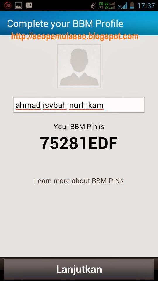 BBM Android, BlackBerry ID, BlackBerry Messsenger