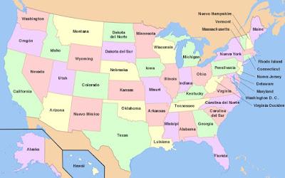 Porque los Estados de Estados Unidos son Cuadrados