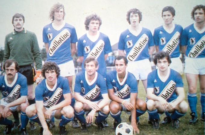 A.J AUXERRE 1980-81.