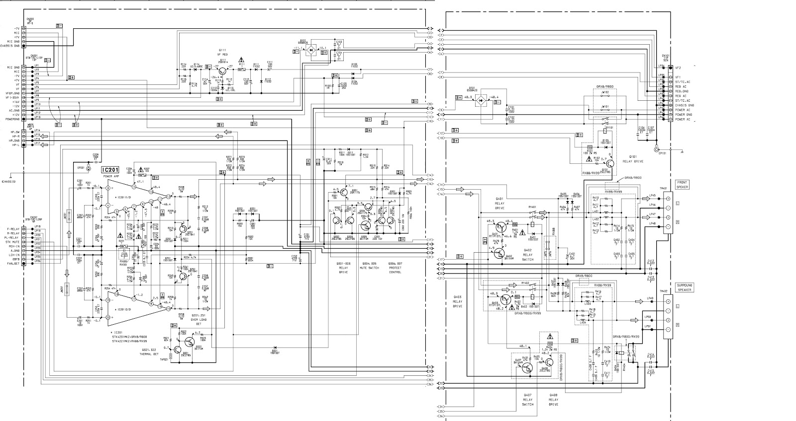 Sony Hcd Grx8 Aging Mode Power Amplifier Circuit Diagram