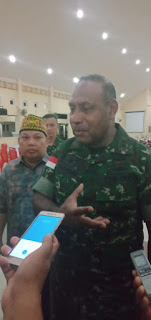 Pangdam XII Tanjungpura Kunker Ke Melawi.