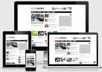 newspaper blogger theme