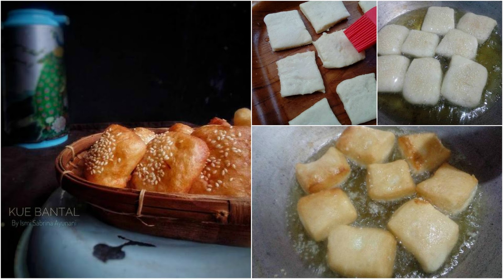 Resep Membuat Kue Bantal Yang Enak, Manis, Dan Empuk