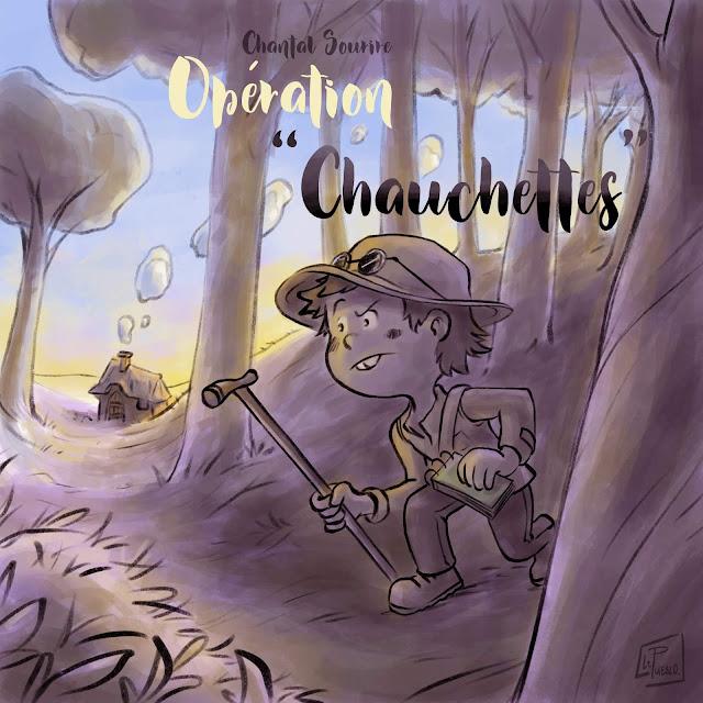 illustration jeunesse détective histoire enfant LePueblo