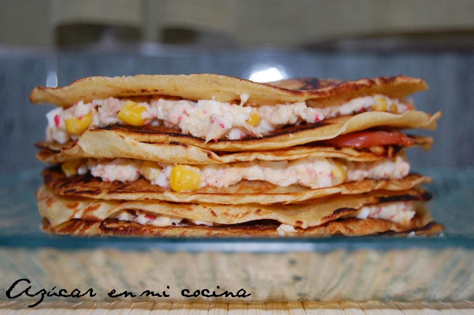 http://azucarenmicocina.blogspot.com.es/2014/02/mille-crepe-salada-de-surimi-y-trucha.html