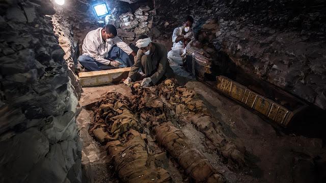 4 Temuan Kuburan dan Kuil Mesir Kuno Paling Menarik di Awal 2018