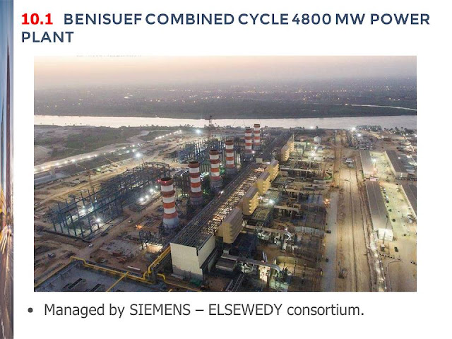 10.1  BENISUEF COMBINED CYCLE 4800 MW POWER PLANT