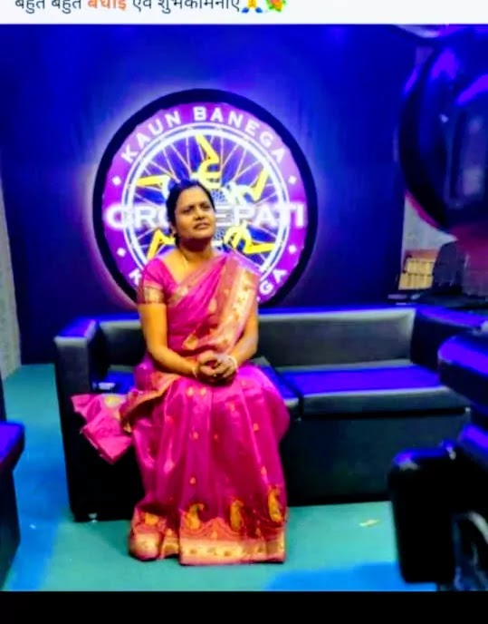 Anupa Das in KBC'12  she has created history for Bastar