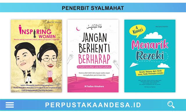 Daftar Judul Buku-Buku Penerbit Syalmahat