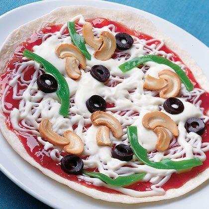 Tortilla Thin-crust Pizza