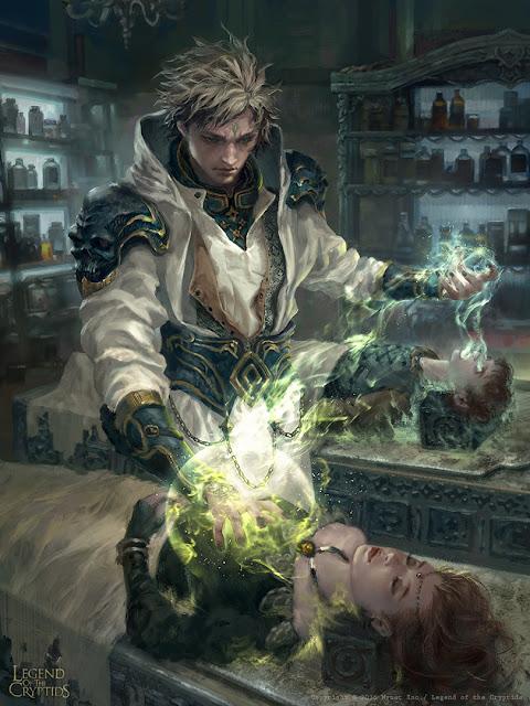 Reglas caseras para Dungeons & Dragons - Heridas - CLérigo
