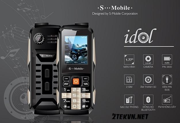 điện thoại độc S-mobile idol