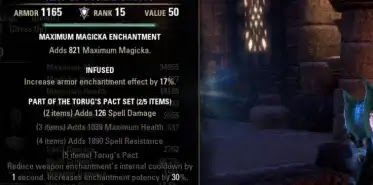 Best PVP Tank Crafted Set - Torug's Pact