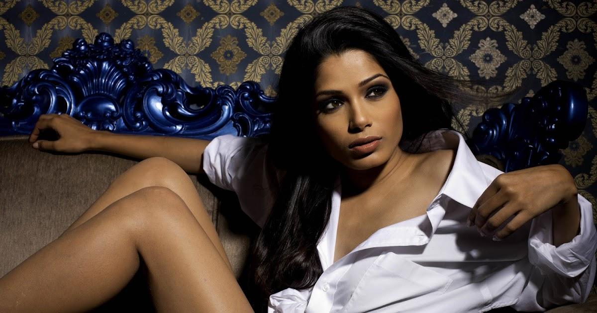 India's hottest export Freida Pinto Fear of Animals | Stylish Indian Models - Clik 4 Ur Success
