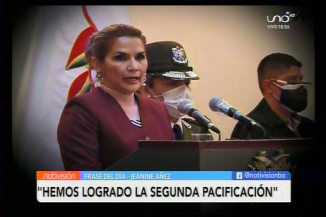 Jeanine Áñez logra pacificar el país por segunda vez;  promulga ley de elecciones