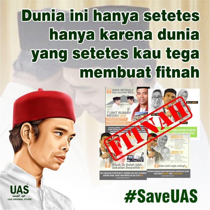 Trending #SaveUAS, Netizen Kompak Sebarkan Gambar-Gambar Bantahan
