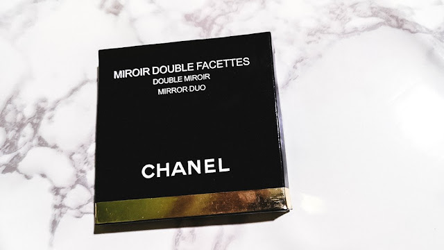 Chanel Miroir Double Facettes Mirror Duo: My first Chanel purchase...is a compact mirror.
