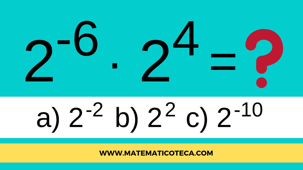 #poteciação, #matematica