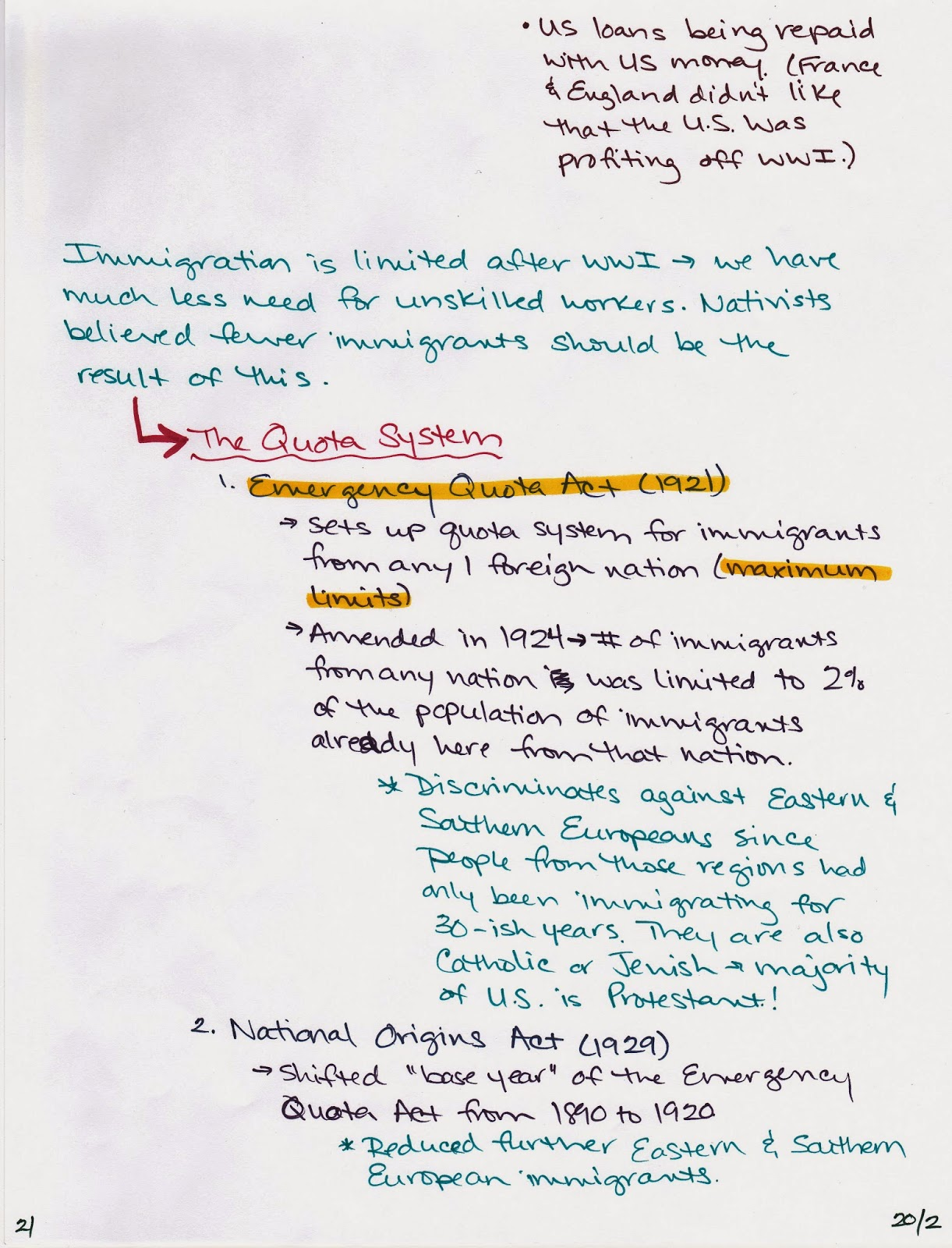 Mrs Ramo S Online Classroom Us History Chapter 20
