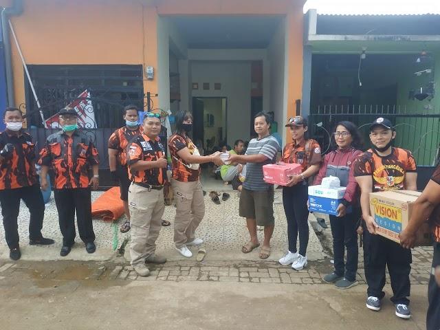 Pemuda Pancasila Koti Mahatidana  Posko 021 Salurkan Bantuan dari Pondok Syeh Jangkung