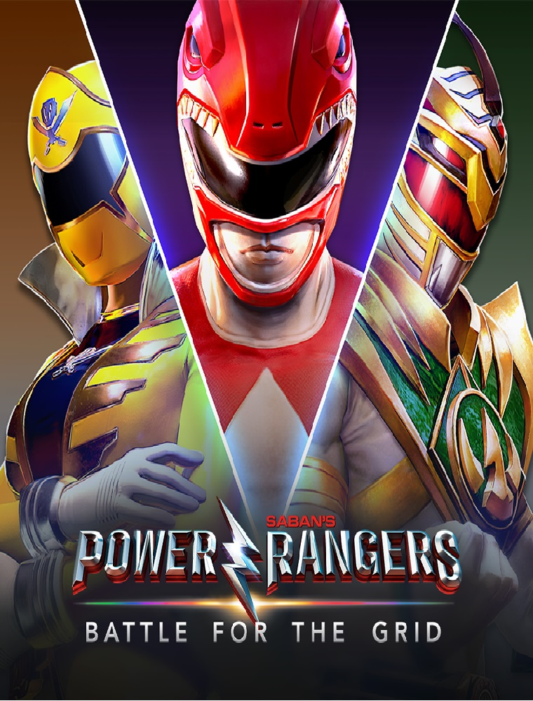 Power Rangers Battle For The Grid PC Cover Caratula