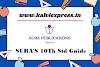 Sura guide for 10th -2021-22