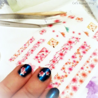 born pretty store sakura nail stickers