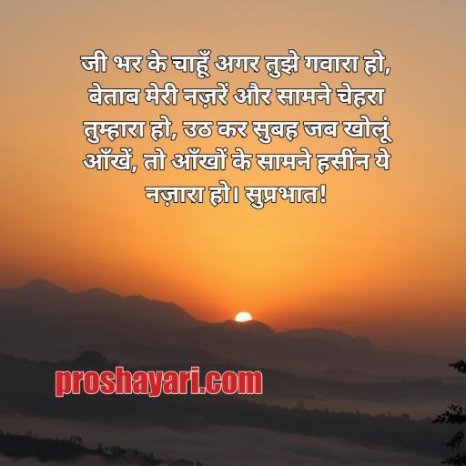 Good morning shayari Hindi/ good morning shayari in Hindi 140 image
