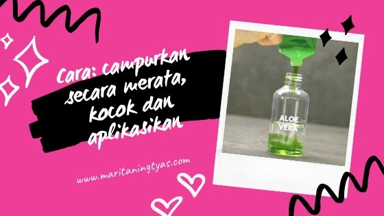cara membuat homemade setting spray